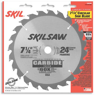 Skil Ripping & Framing Carbide Tipped Circular Saw Blades 75718