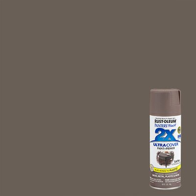 Painter's Touch® 2X™ 12 Oz London Gray Cover Spray Paint Satin