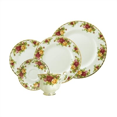 Old Country Roses Dinnerware Set