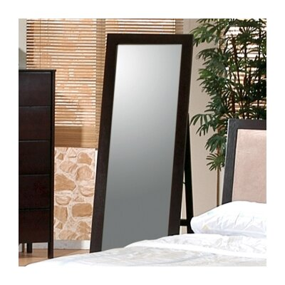 Wildon Home ® Ventura Standing Floor Mirror in Cappuccino
