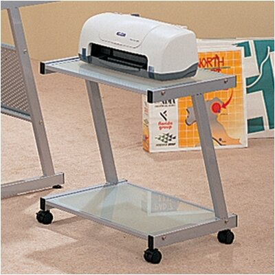 Wildon Home ® Rice Hill Printer Station in Silver