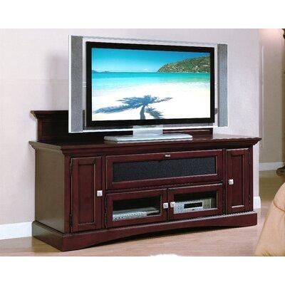 Dark Cherry Wood TV Stands