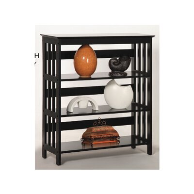 Wildon Home ® Three Tier Bookshelf in Espresso