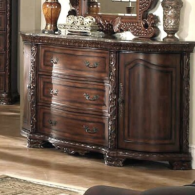 Wildon Home ® Cannes 3 Drawer Combo Dresser