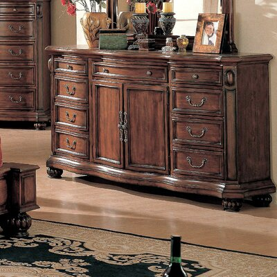 Wildon Home ® Wrigley 9 Drawer Combo Dresser