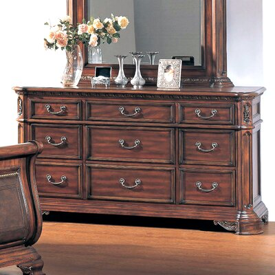 Wildon Home ® Tipton 9 Drawer Dresser