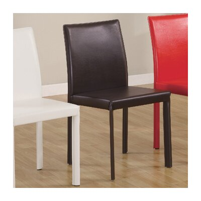 Benson Faux Leather Parson Chair