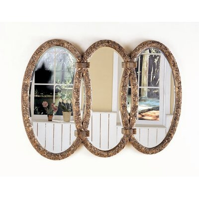 Tonasket Triplet Mirror in Antique Bronze