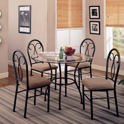 Wildon Home ® Winterport 5 Piece Dining Set