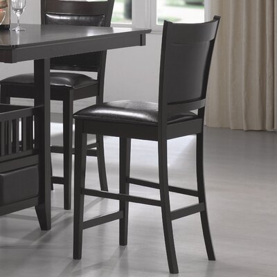 Wildon Home ® Forsan Counter Height Barstool in Cappuccino