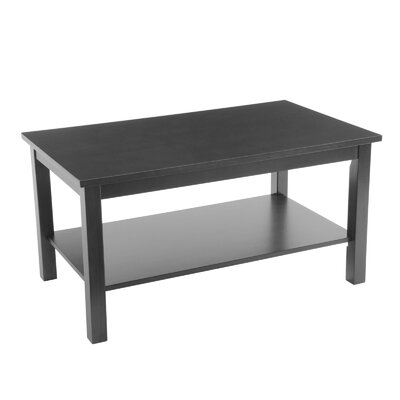Wildon Home ® Bay Shore Coffee Table with Shelf
