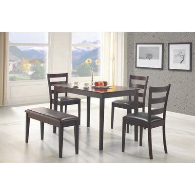 Wildon Home ® Guilford 5 Piece Counter Height Dining Set