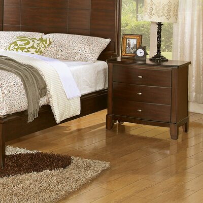 Wildon Home ® Audrey 3 Drawer Nightstand