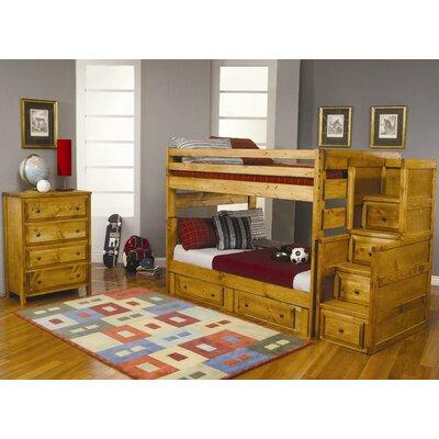 Wildon Home 174 San Bernardino Full Over Full Bunk Bed Set