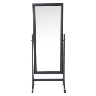 Wildon Home ® Ritzville Cheval Mirror in Rubbed Black