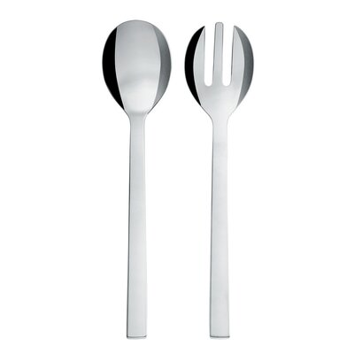 Alessi Santiago Salad Set in Mirror Polished by David Chipperfield