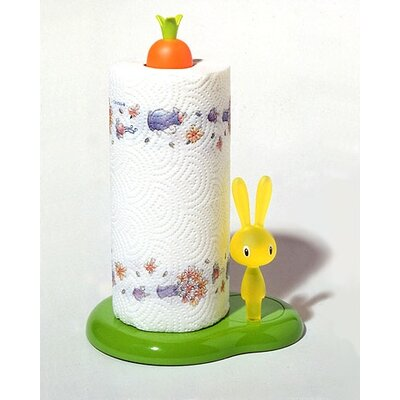 Alessi Bunny &amp; Carrot Kitchen Roll Holder by Stefano Giovannoni