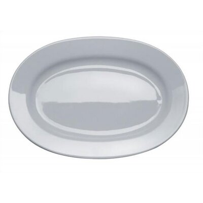 Alessi Platebowlcup Oval Serving Plate by Jasper Morrison