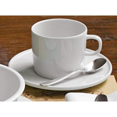 Alessi Platebowlcup Mocha Cup with Saucer Set