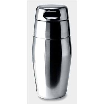 Alessi Luigi Massoni 17.5 oz. Silver Cocktail Shaker