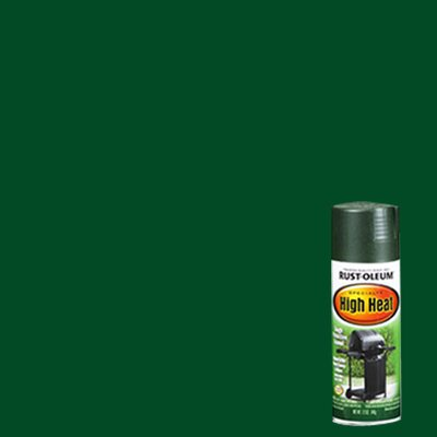 Rustoleum Hunter Green Heat Resistant BBQ Finish Spray Paint