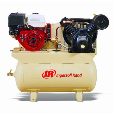 Ingersoll Rand Two Stage Gas Driven Compressor Pump