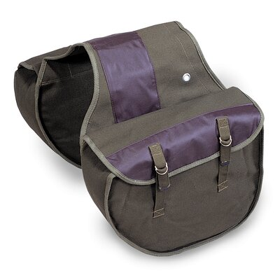 Canvas Saddle Bag