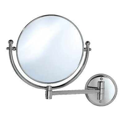 Magnifying Wall Mirror in Chrome