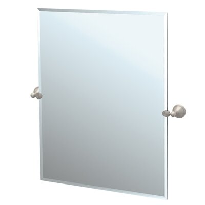 Gatco Laurel Ave Tilting Rectangle Wall Mirror (Beveled)
