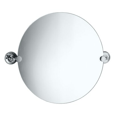 Gatco Designer II Round Mirror in Chrome