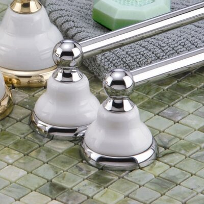 Gatco Petite Franciscan Towel Bar in Chrome