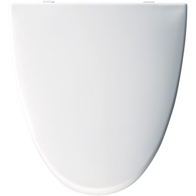 Bemis American Standard Molded Wood Solid Plastic Elongated Toilet Seat