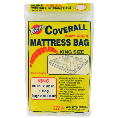 "Warps 86"" x 92"" King Size Banana Bags Mattress Bag"