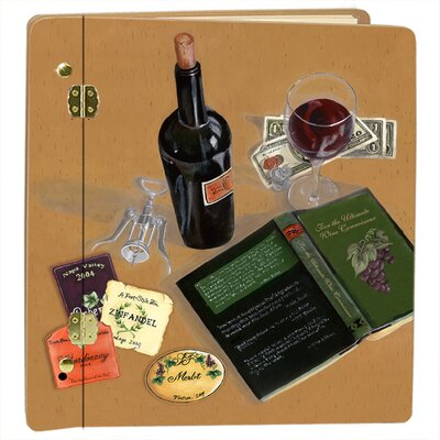 Lexington Studios Home and Garden Wine and Spirits Good Book, Good Wine II Photo Album