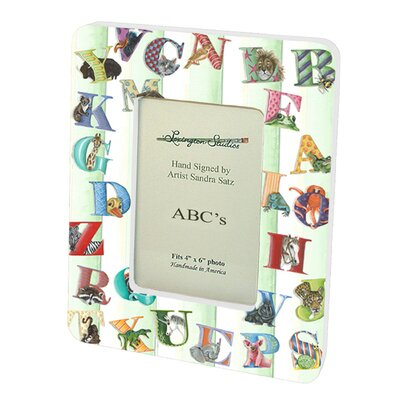 Children and Baby's ABC's Picture Frame