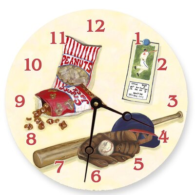 Baseball Decorative Wall Clock