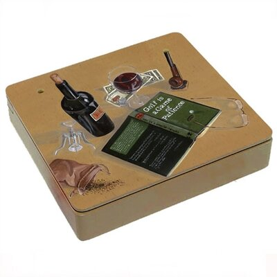 Lexington Studios Good Book Good Wine Decorative Storage Box