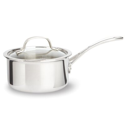 Tri-Ply Stainless Steel Saucepan with Lid