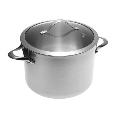 Calphalon Contemporary Stainless Steel 8-qt. Stock Pot with Lid