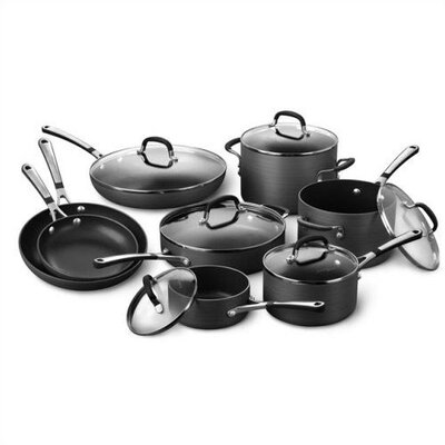 Calphalon Simply Hard-Anodized Aluminum 14-Piece Cookware Set