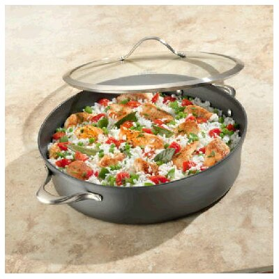 Calphalon Contemporary 7-qt. Sauteuse Pan with Lid