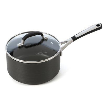 Simply Nonstick Saucepan with Lid