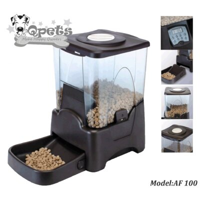 QPets Large Capacity Automatic Pet Feeder