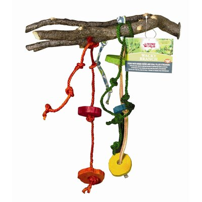 Hagen Living World Wacky Branch  Hookbill Bird Toy