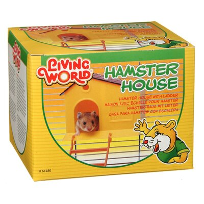 Hagen Living World Hamster House with Step Ladder