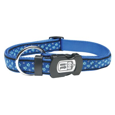 Dogit Style Footloose Adjustable Nylon Dog Collar