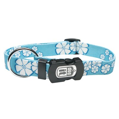 Dogit Style Aloha Adjustable Nylon Dog Collar