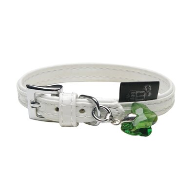 Hagen Dogit Style Milano Faux Leather Dog Collar
