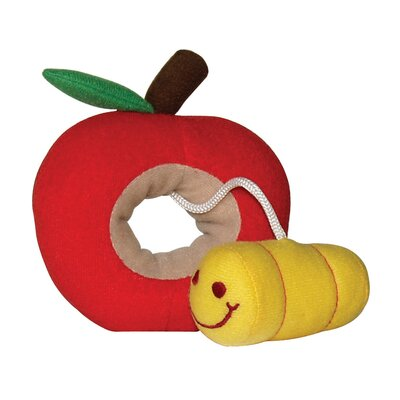 Hagen Dogit Fruity Worm Plush Dog Toy