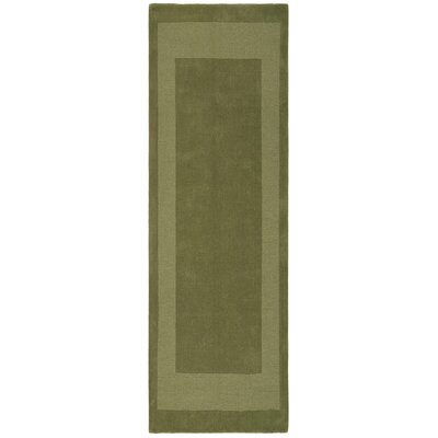 Transitions Moss Border Rug